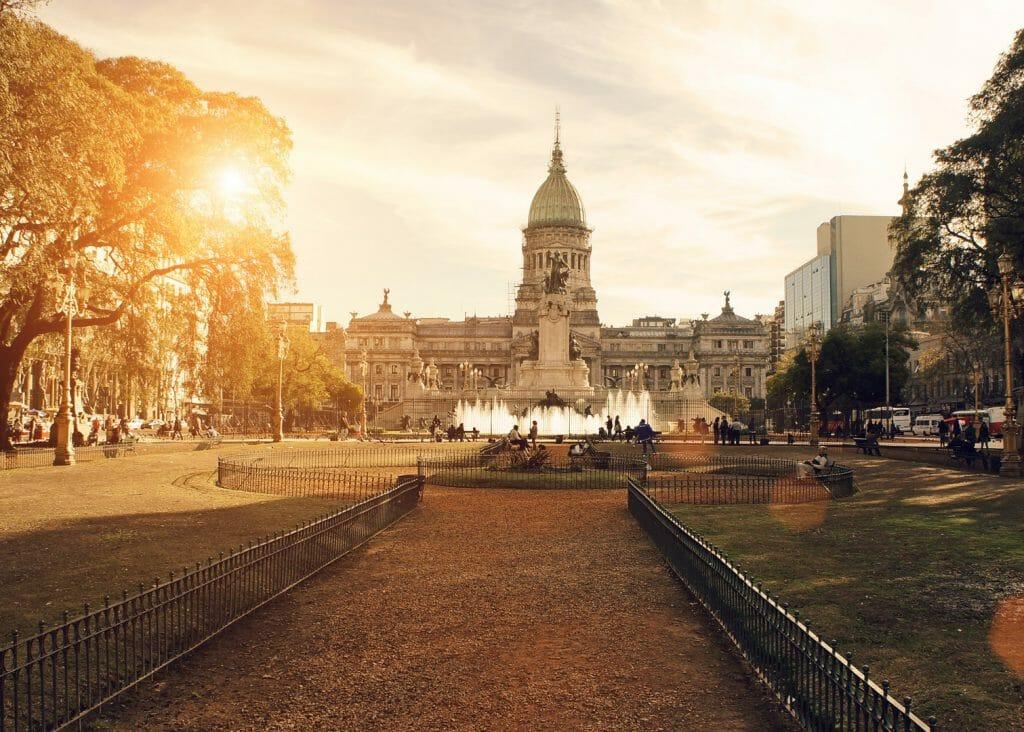 National Congress Building, Buenos Aires, Argentina