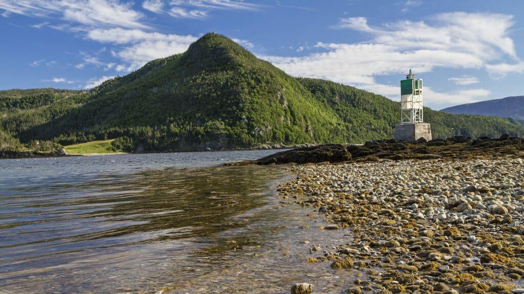 Norris Point on Bonne Bay in Gros Morne National Park