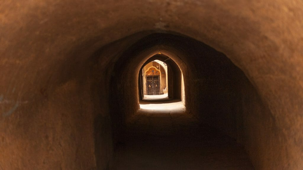 Old Street, Yazd, Iran