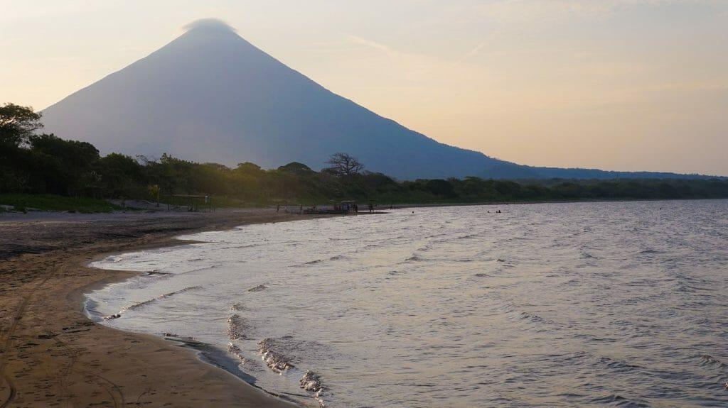Ometepe Island, Beach at Sunset, Nicaragua