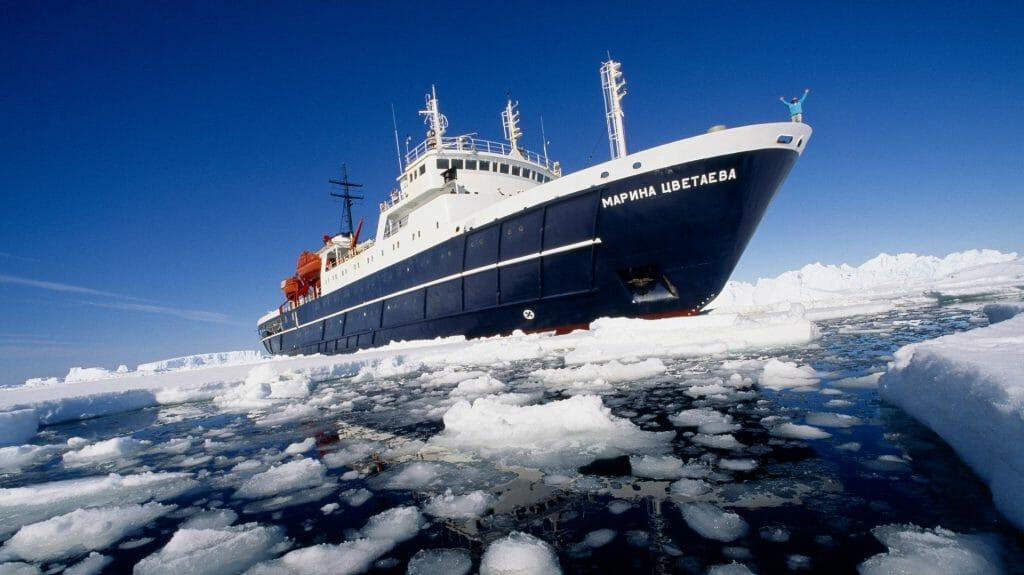 Ortelius, Antarctica
