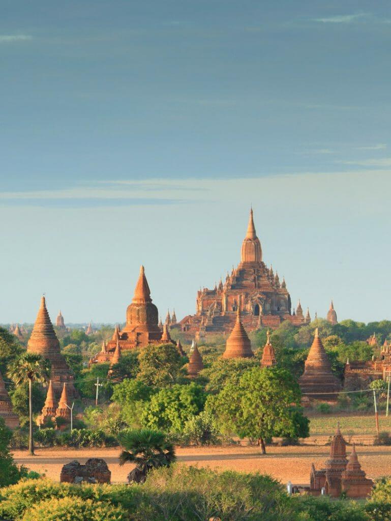 Pagodas, Bagan, Mynamar