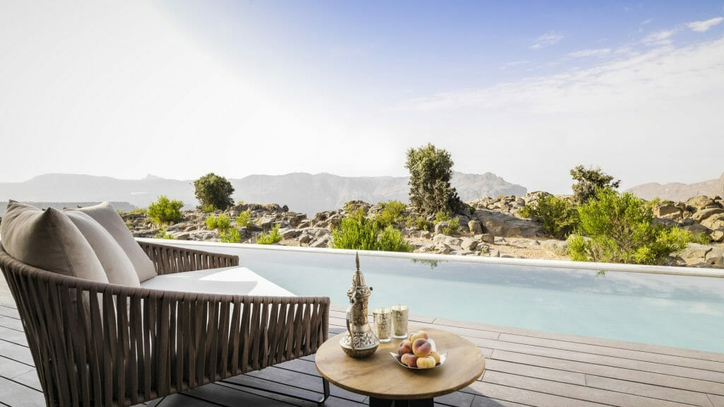Pool villa, Anantara Al Jabal Al Akhdar, Mountains, Oman