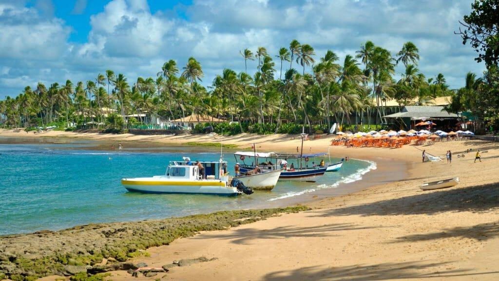 Praia do Forte Beach, Bahia, Brazil