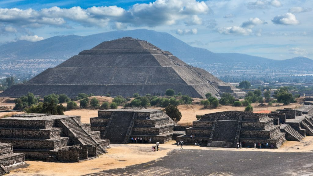 Pyramid of the Sun, Teotihuacan, Mexico City, Mexico