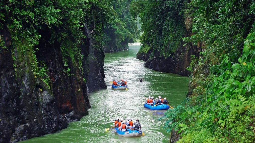 Rafting, Pacuare Lodge, Costa Rica