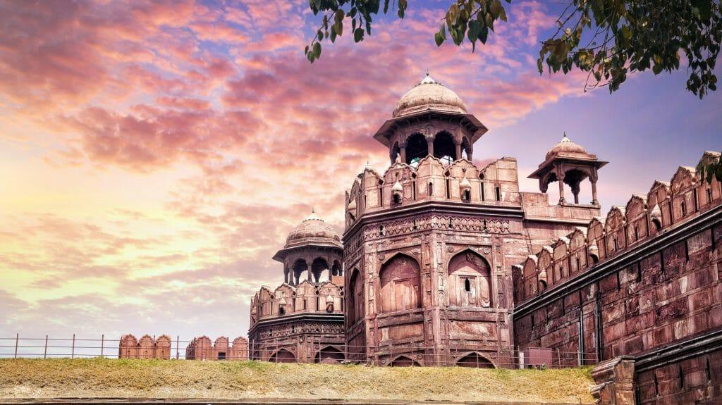 Red Fort, Old Delhi, India