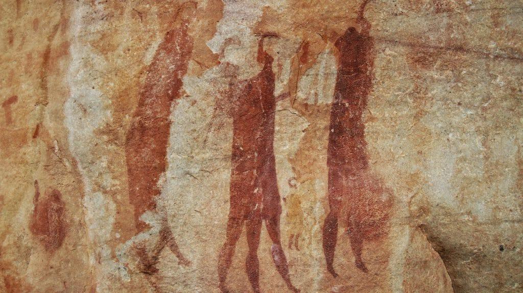 Rock art at Bushmans Kloof, Cederberg, South Africa