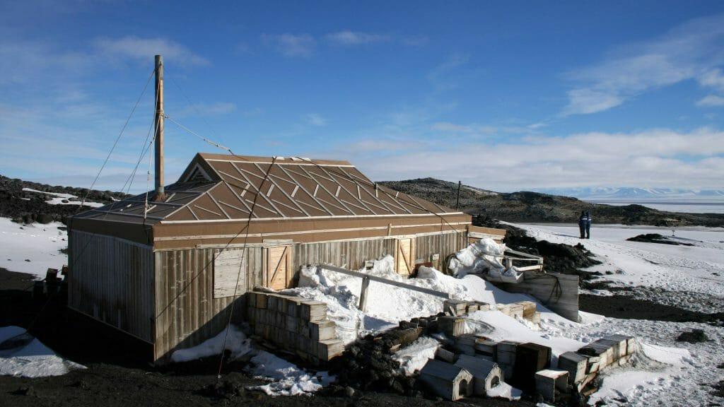 Shackleton Hut, McMurdo Sound, Antarctica