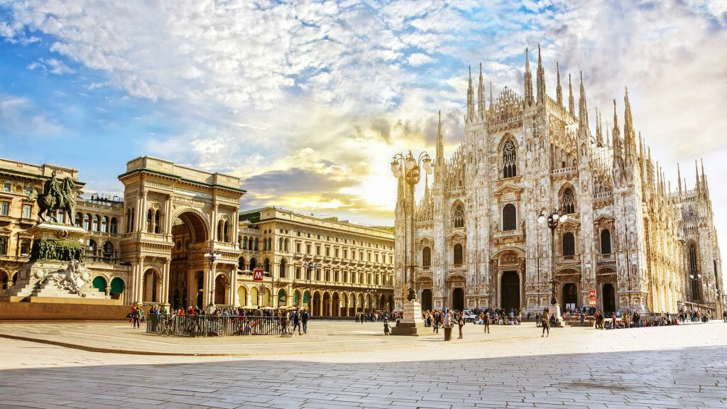 Cathedral Duomo di Milano, Milan, Italy