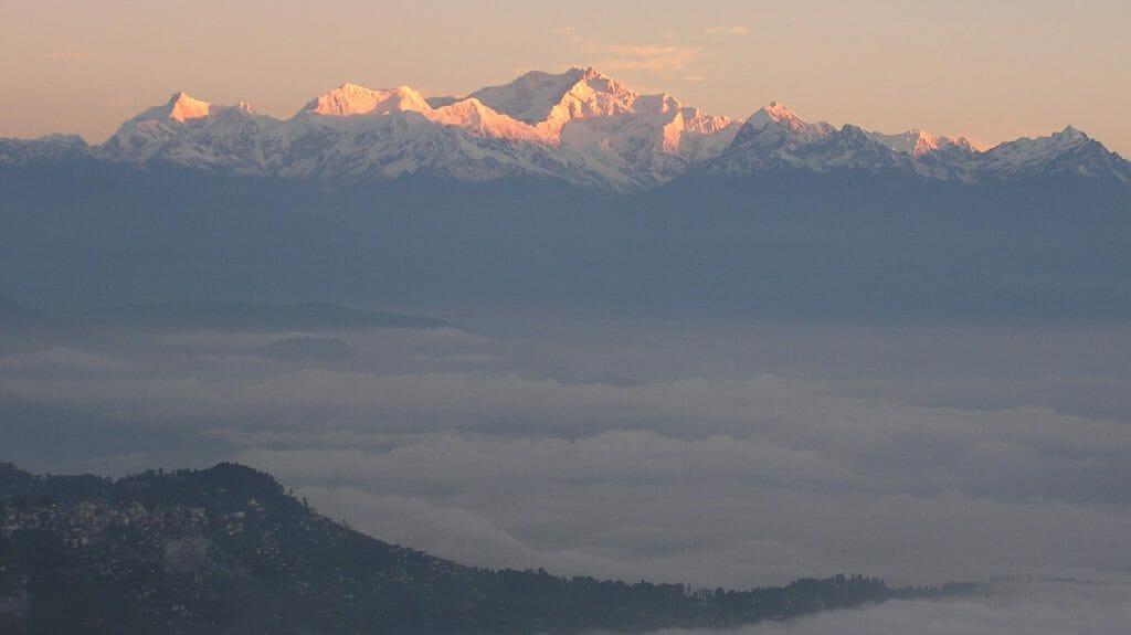 Sunrise, Mount Kanchenjunga, Sikkim, India