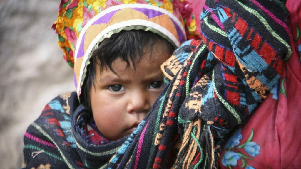 Tarahumara Baby, Chihuahua, Copper Canyon, Mexico
