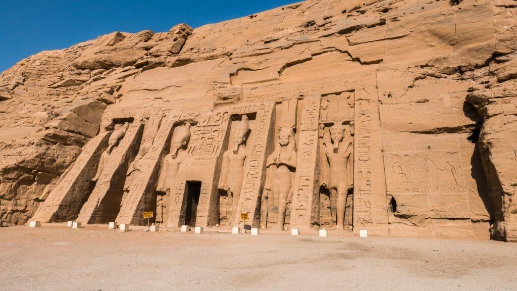 Temple of Nefertari, Nubian, Egypt
