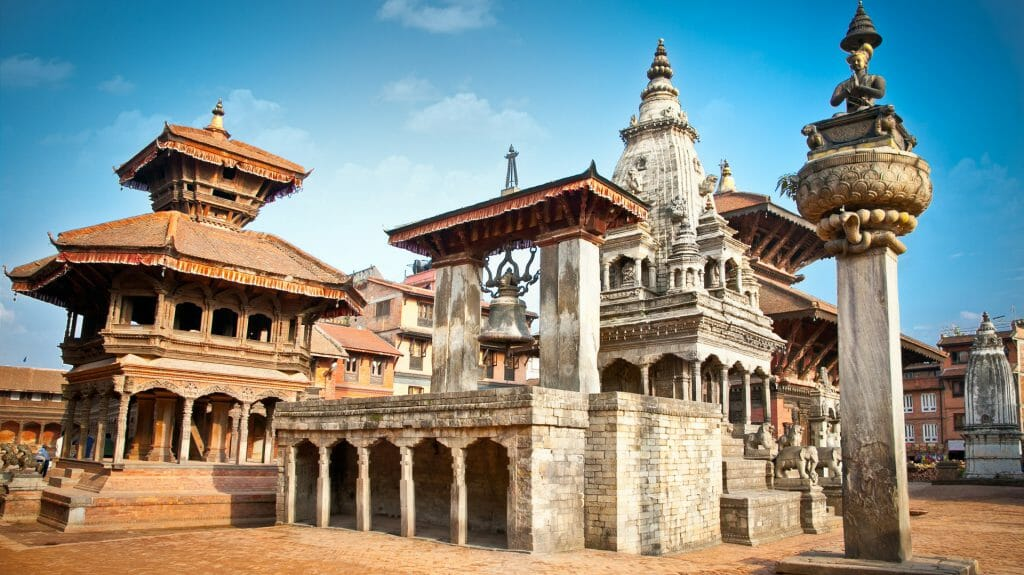 Temples of Durbar Square, Kathmandu, Nepal