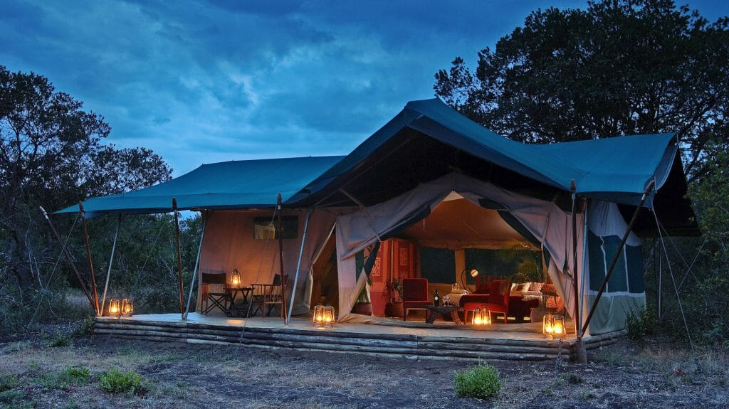Tent Exterior, Kicheche Laikipia Camp, Laikipia, Kenya