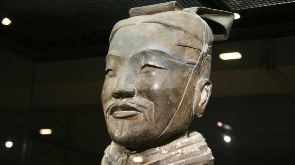 Terracotta Warrior, Xian, China