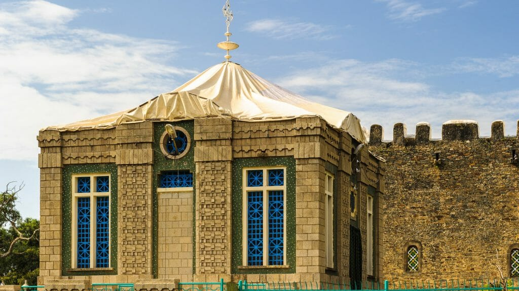 The Chapel of the Tablet, Axum, Ethiopia