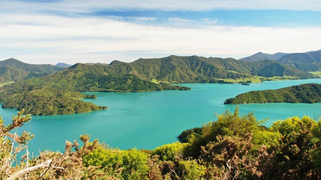 The Marlborough Sounds, New Zealand