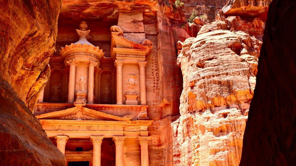 Treasury Temple (Al Khazneh), Petra, Jordan