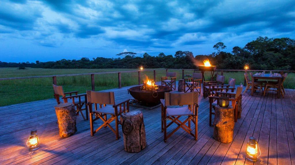 Veranda, Mboko Camp, Odzala National Park