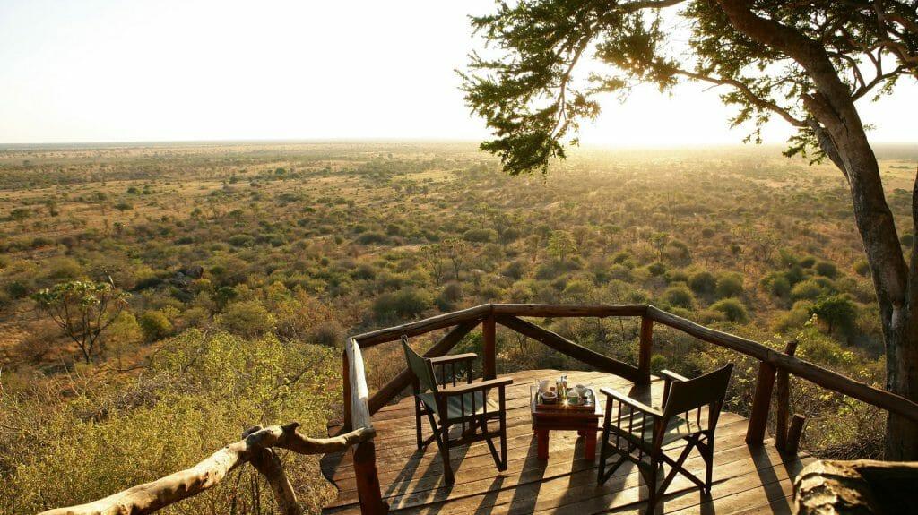 Verandah View, Elsa's Kopje, Meru, Kenya