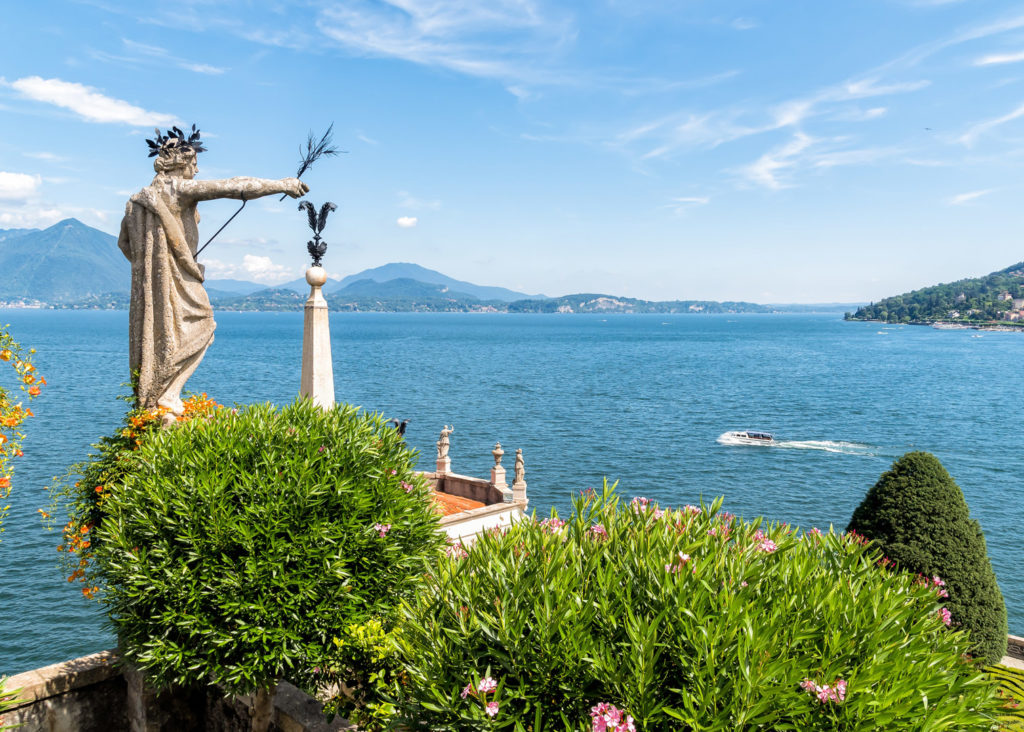 View on Lake Maggiore, Italy