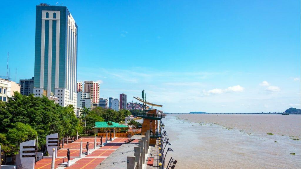 Guayaquil waterfront, Ecuador