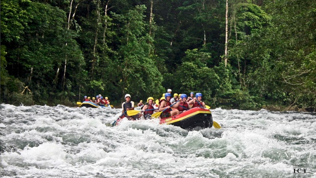 White Water Rafting, Arenal, Costa Rica