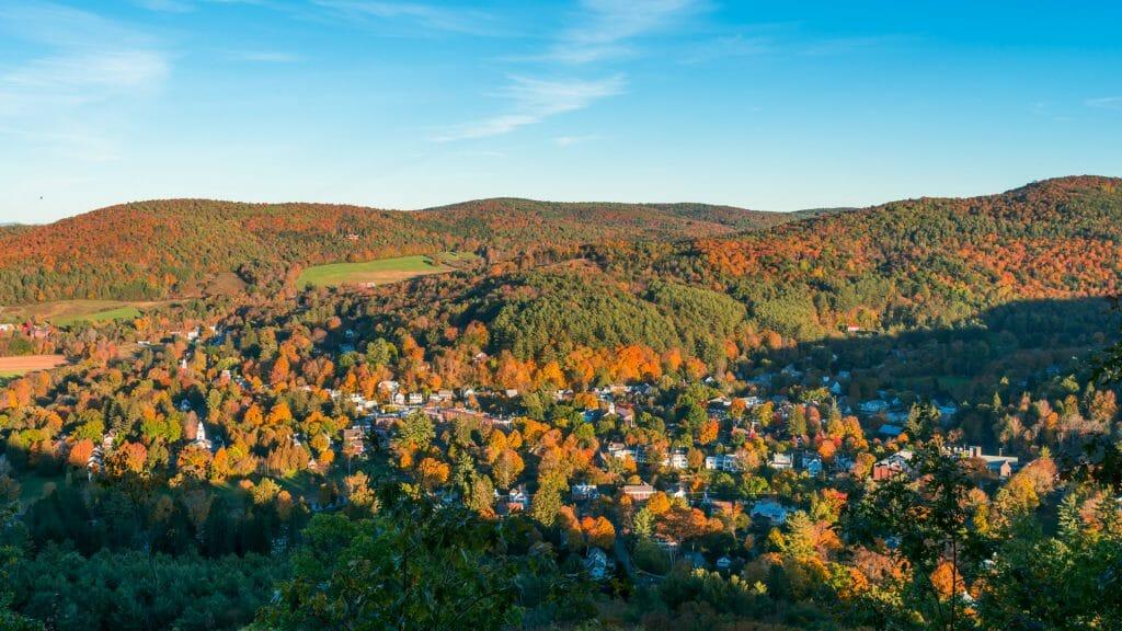 Woodstock, Vermont, New England, USA