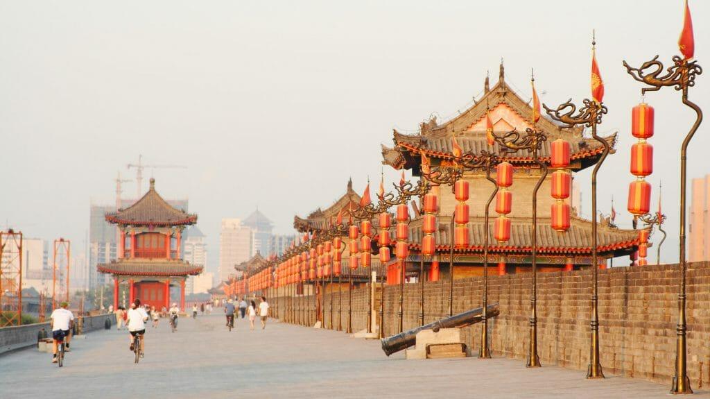 X'ian City Wall, X'ian, China