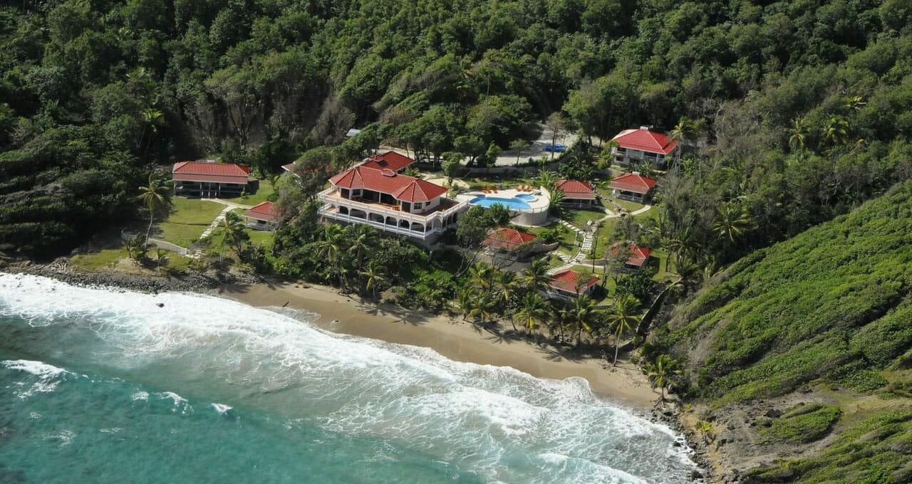 Aerial View, Petite Anse, St. Patrick's, Grenada