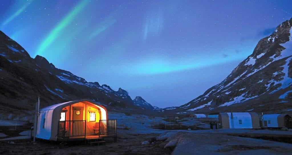 Basecamp Greenland, Northern Lights