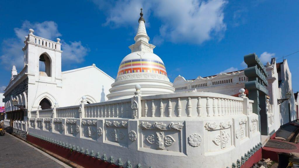 Buddhist Stupa, Galle Fort, Galle, Sri Lanka