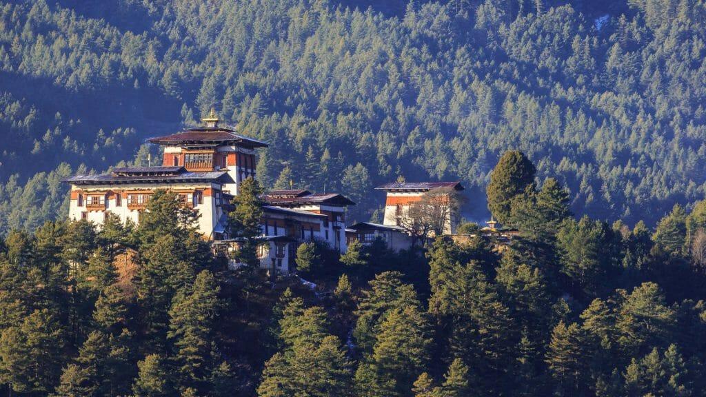 Bumthang Dzong Monastery, Bhutan
