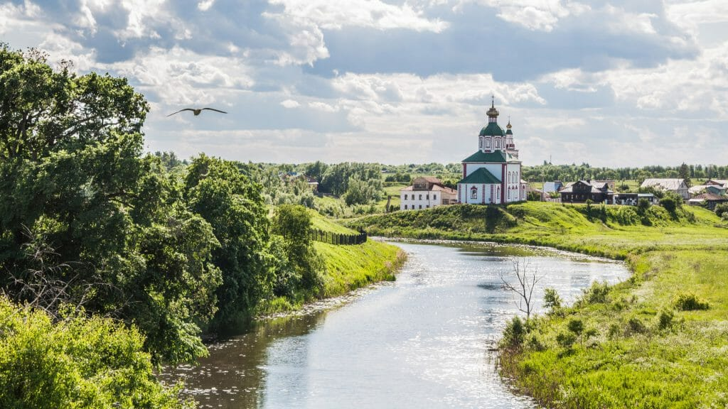 Church of Elijah, Suzdal, Golden Ring, Russia