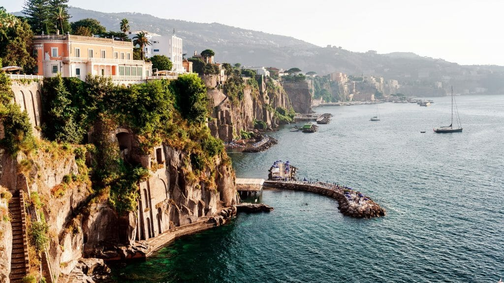 Cliff View, Sorrento, Italy