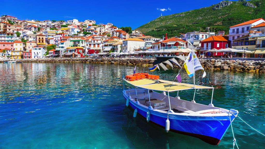 Beautiful coastal town Parga, Greece