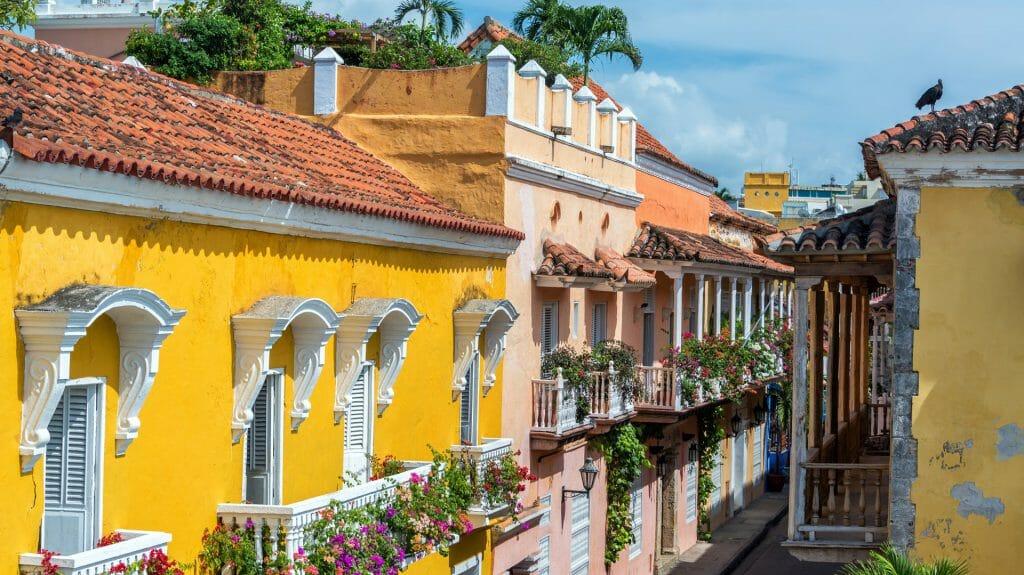 Colonial Buildings, Cartagena, Columbia