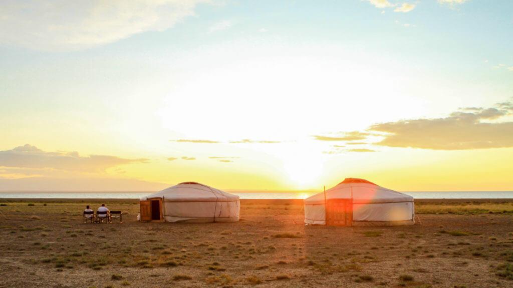 Sunset in the Altai, Mongolia, Manaljav Altanchimeg