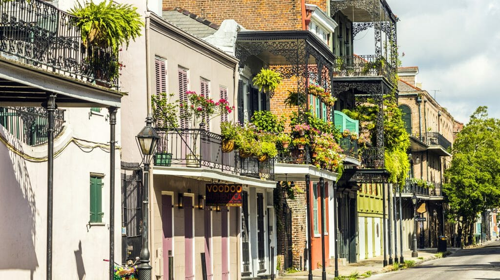 French Quarter, New Orleans, Deep South, USA
