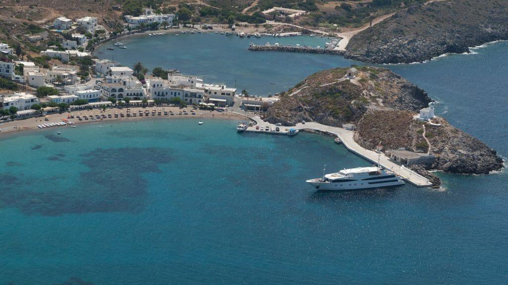Kythira Port, The Harmony V, Kythira, Greece