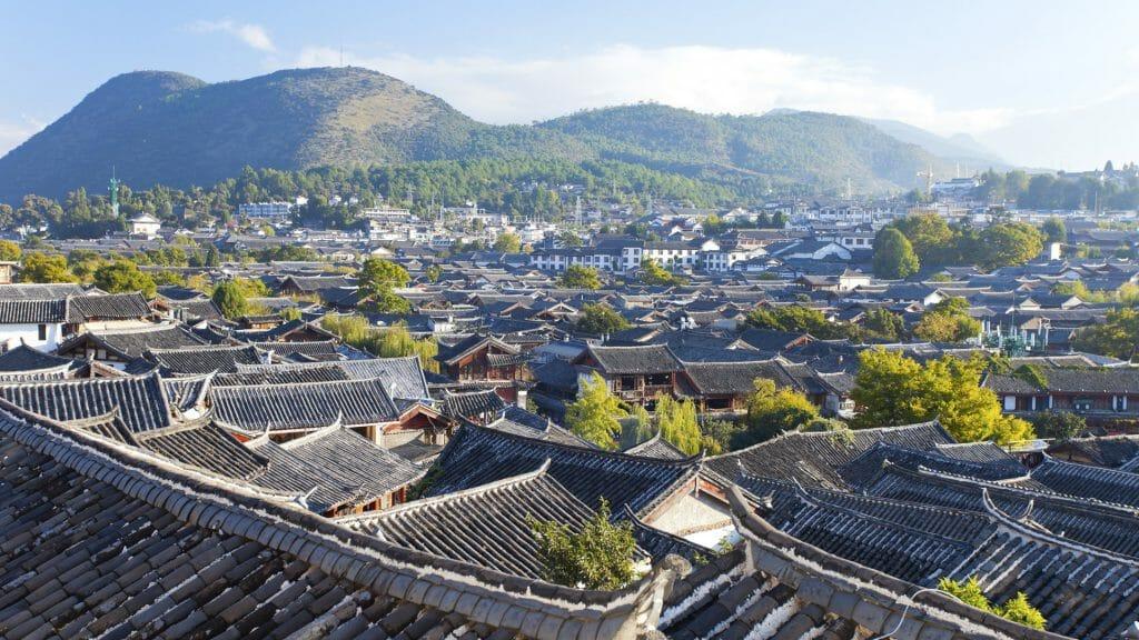 Lijiang old town, Lijiang, Yunnan, China
