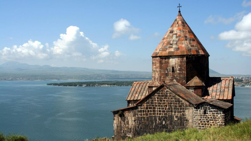 Medieval Church, Lake Sevan, Armenia