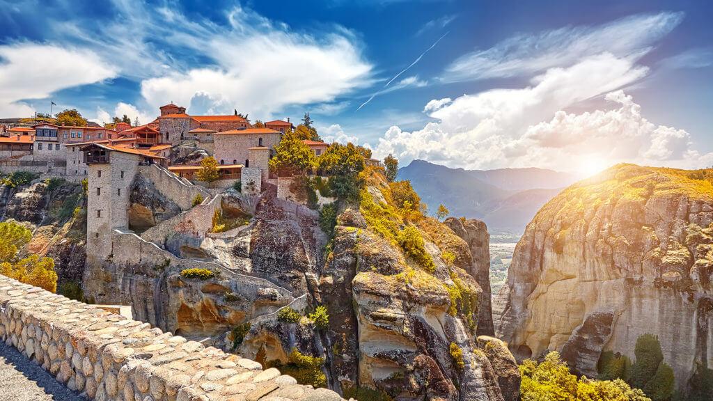 Great Monastery of Varlaam on the high rock in Meteora, Meteora monasteries, Greece