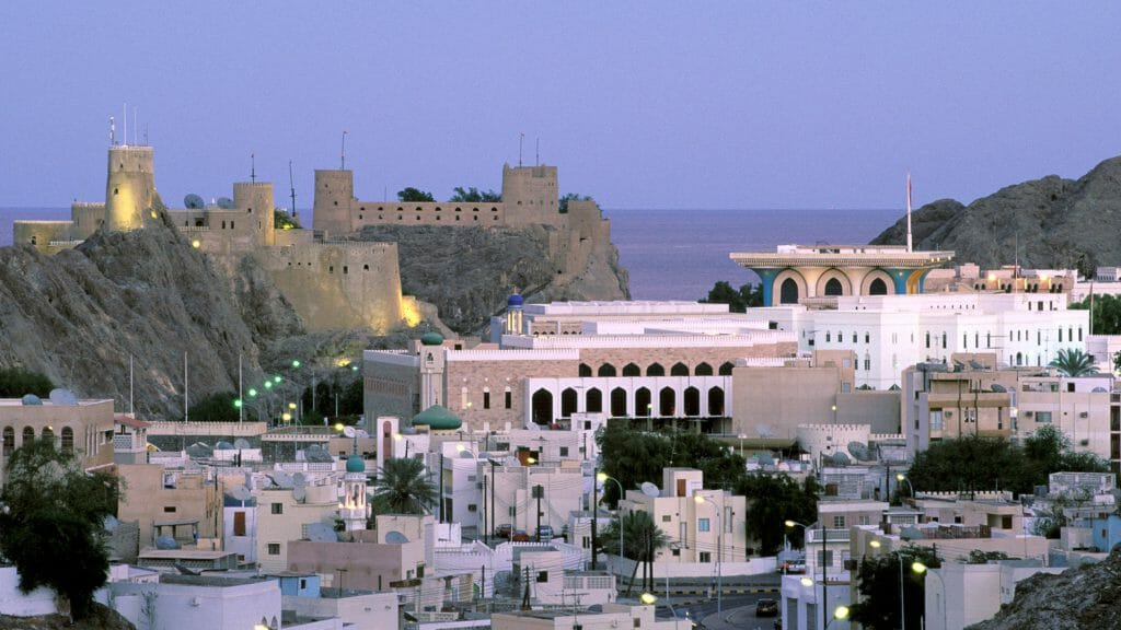 Muscat at Dusk, Oman