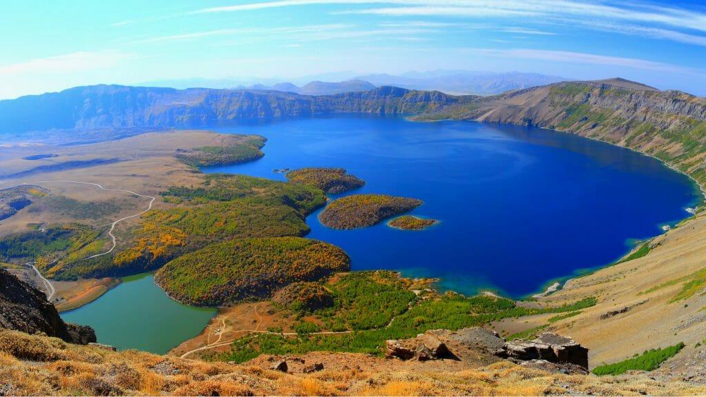 Nemrut Crater Lake, Tatvan, Turkey