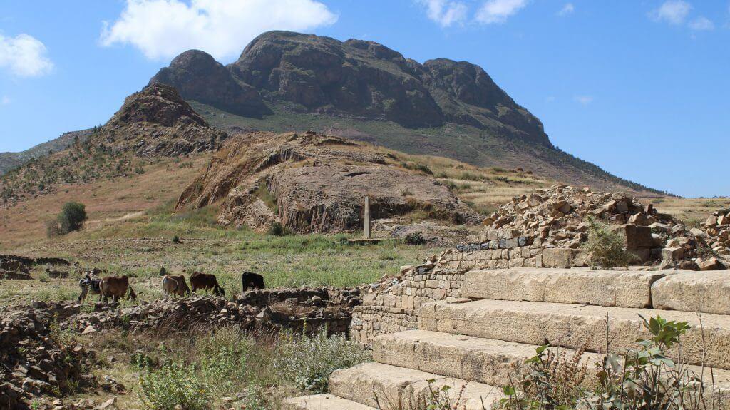 Ruins of Metera, near Adi Keyh, Eritrea