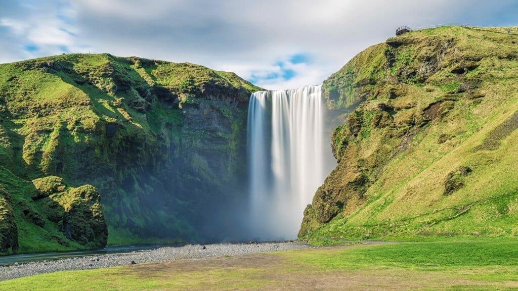 Skogafoss Waterfall, Golden Circle, Iceland