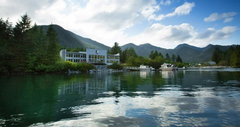 Spirit Bear Lodge, Bella Bella, British Columbia, Canada