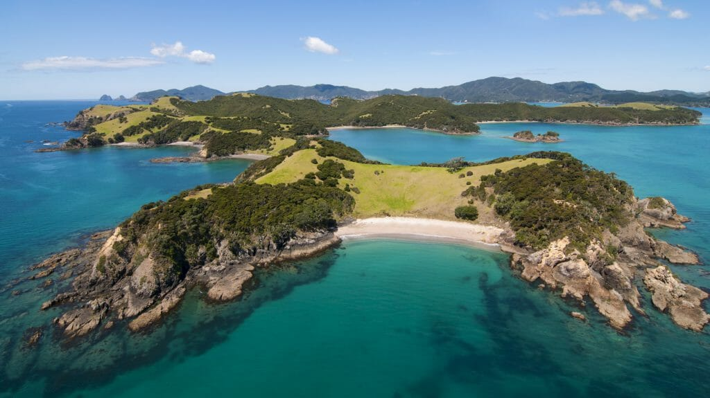 Urapukapuka Island, Bay of Islands, New Zealand